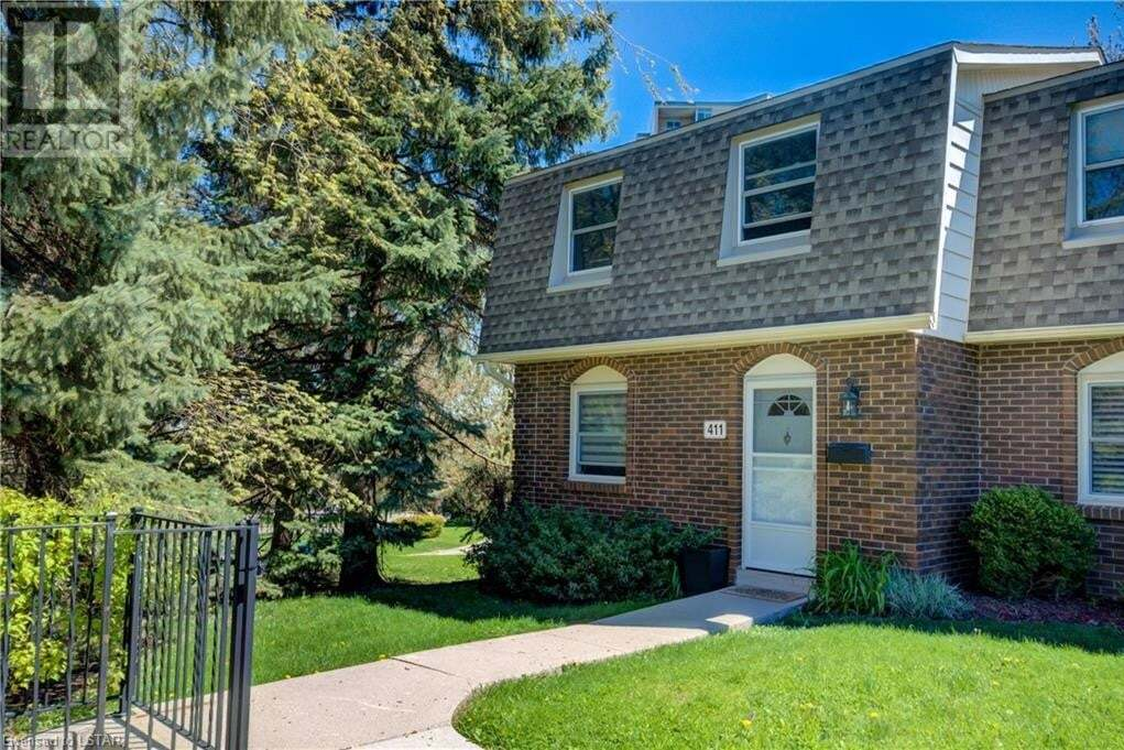 Townhouse for sale at 411 Wilkins St London Ontario - MLS: 261415