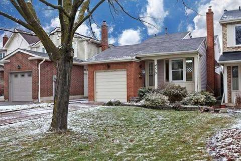 House for sale at 4110 Stonemason Cres Mississauga Ontario - MLS: W4668194