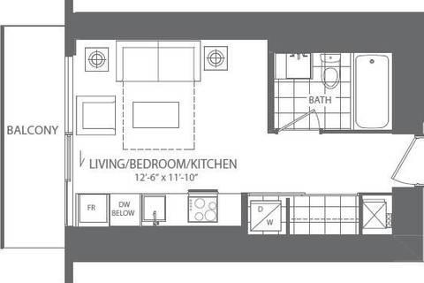 Apartment for rent at 100 Harbour St Unit 4111 Toronto Ontario - MLS: C4702308