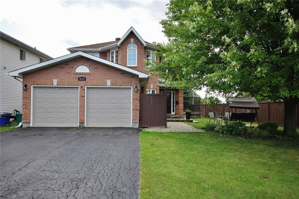 House for sale at 4115 Canyon Walk Dr Ottawa Ontario - MLS: 1166977