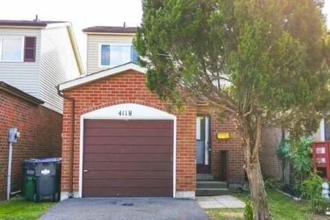 House for sale at 4118 Teakwood Dr Mississauga Ontario - MLS: W4935235