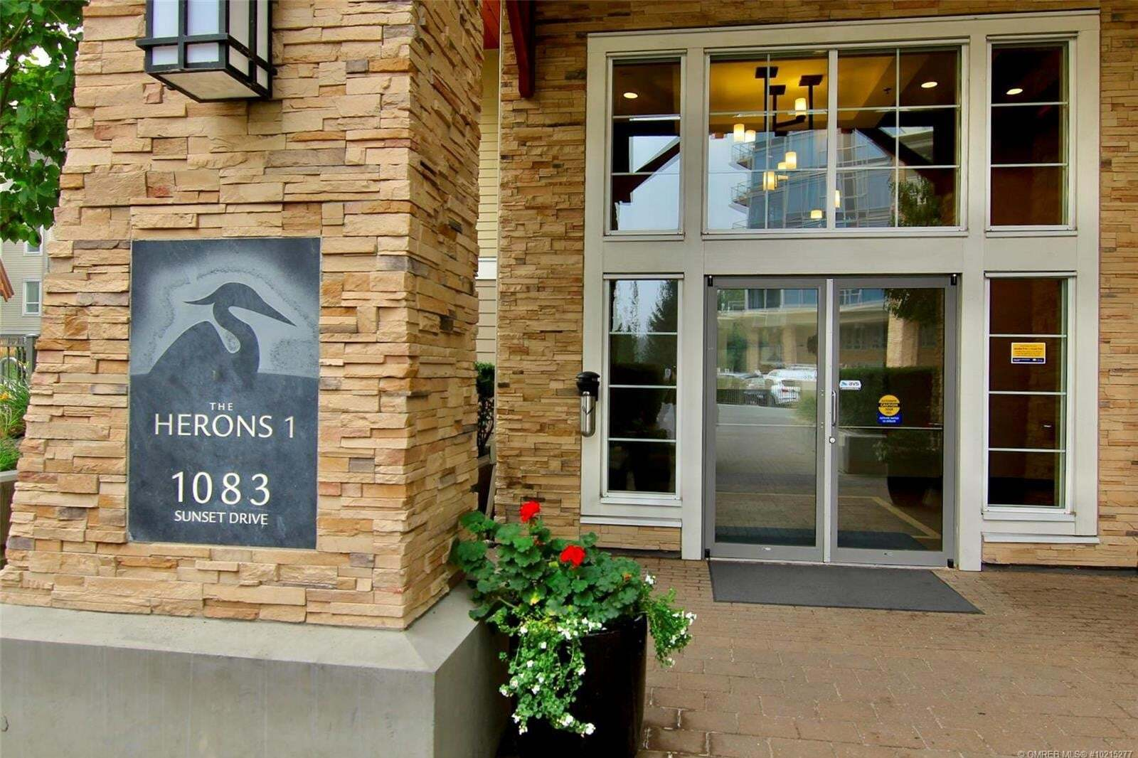 Condo for sale at 1083 Sunset Dr Unit 412 Kelowna British Columbia - MLS: 10215277