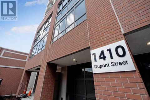 Condo for sale at 1410 Dupont St Unit 412 Toronto Ontario - MLS: W4459959