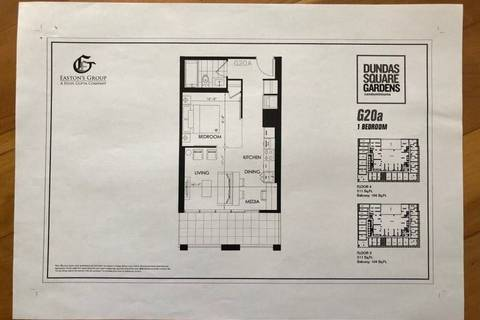 Apartment for rent at 200 Dundas St Unit 412 Toronto Ontario - MLS: C4695581