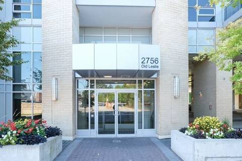 Apartment for rent at 2756 Old Leslie St Unit 412 Toronto Ontario - MLS: C4581525