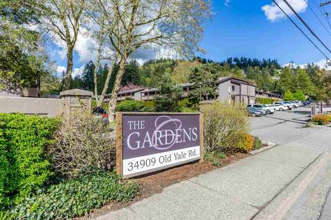 Townhouse for sale at 34909 Old Yale Rd Unit 412 Abbotsford British Columbia - MLS: R2388846