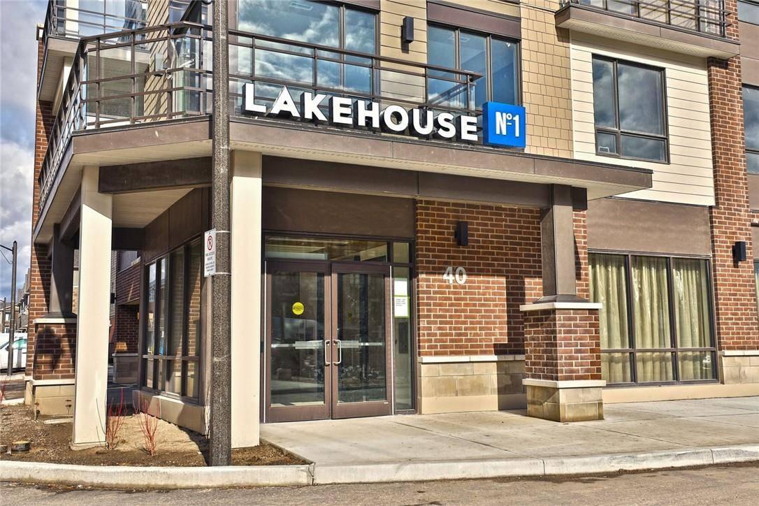 Condo for sale at 40 Esplanade Ln Unit 412 Grimsby Ontario - MLS: H4076058