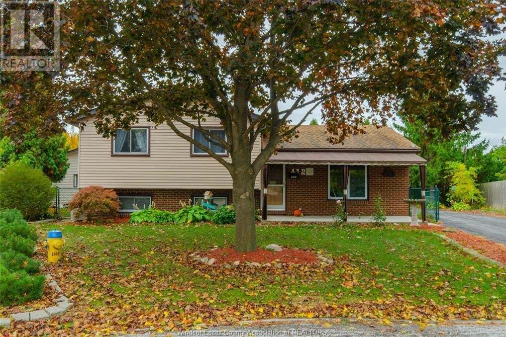 House for sale at 412 Oak Ct Amherstburg Ontario - MLS: 20013943