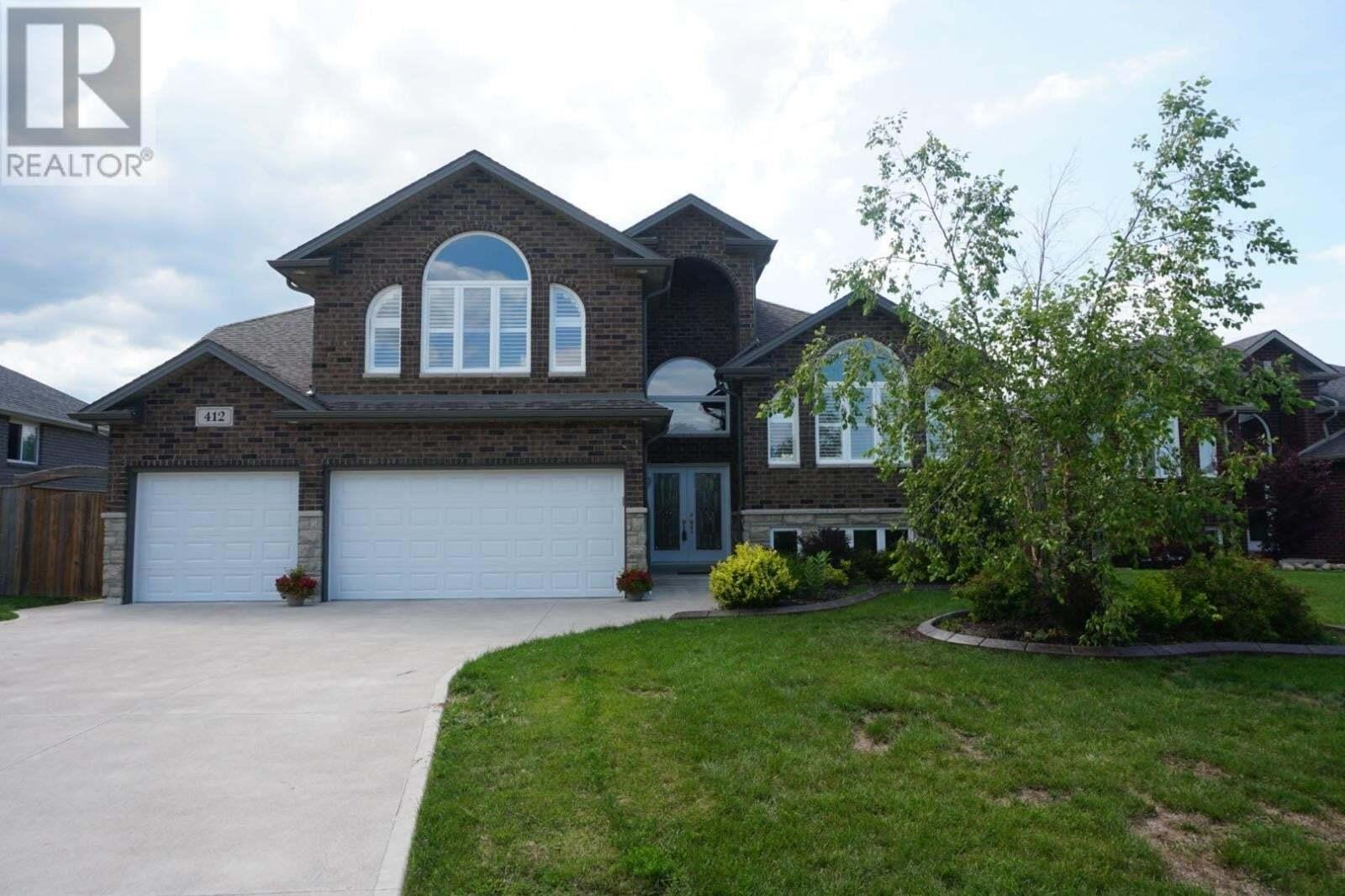 House for sale at 412 Piroli Cres Lakeshore Ontario - MLS: 20009586