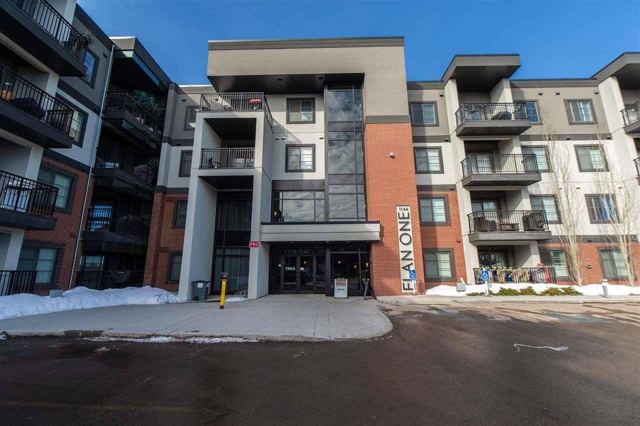 Condo for sale at 1144 Adamson Dr Sw Unit 413 Edmonton Alberta - MLS: E4189234