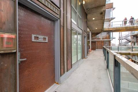 Condo for sale at 1529 6th Ave W Unit 413 Vancouver British Columbia - MLS: R2435033