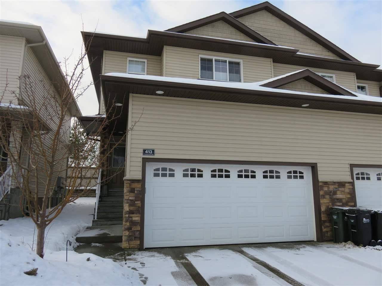 Townhouse for sale at 41 Summerwood Blvd Unit 413 Sherwood Park Alberta - MLS: E4186399