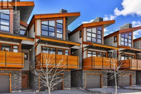 Townhouse for sale at 413 Riva Ht Canmore Alberta - MLS: 49344