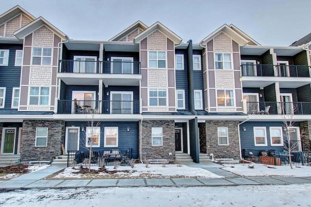 Townhouse for sale at 250 Fireside Vw Unit 414 Fireside, Cochrane Alberta - MLS: C4282346