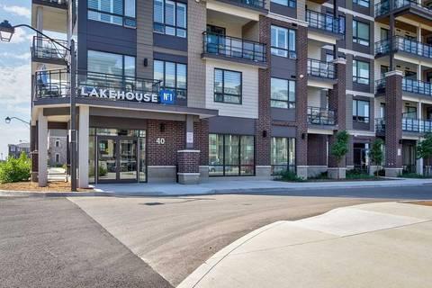 Condo for sale at 40 Esplanade Ln Unit 414 Grimsby Ontario - MLS: X4547329