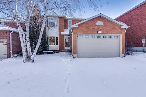 House for sale at 414 Highcliffe Dr Vaughan Ontario - MLS: N4415481