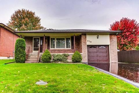 House for sale at 414 Hillcroft St Oshawa Ontario - MLS: E4610068