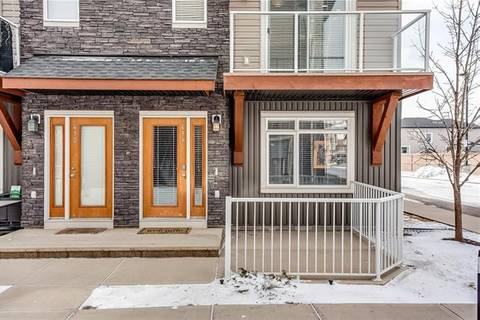 Townhouse for sale at 414 Skyview Point Pl Northeast Calgary Alberta - MLS: C4292174