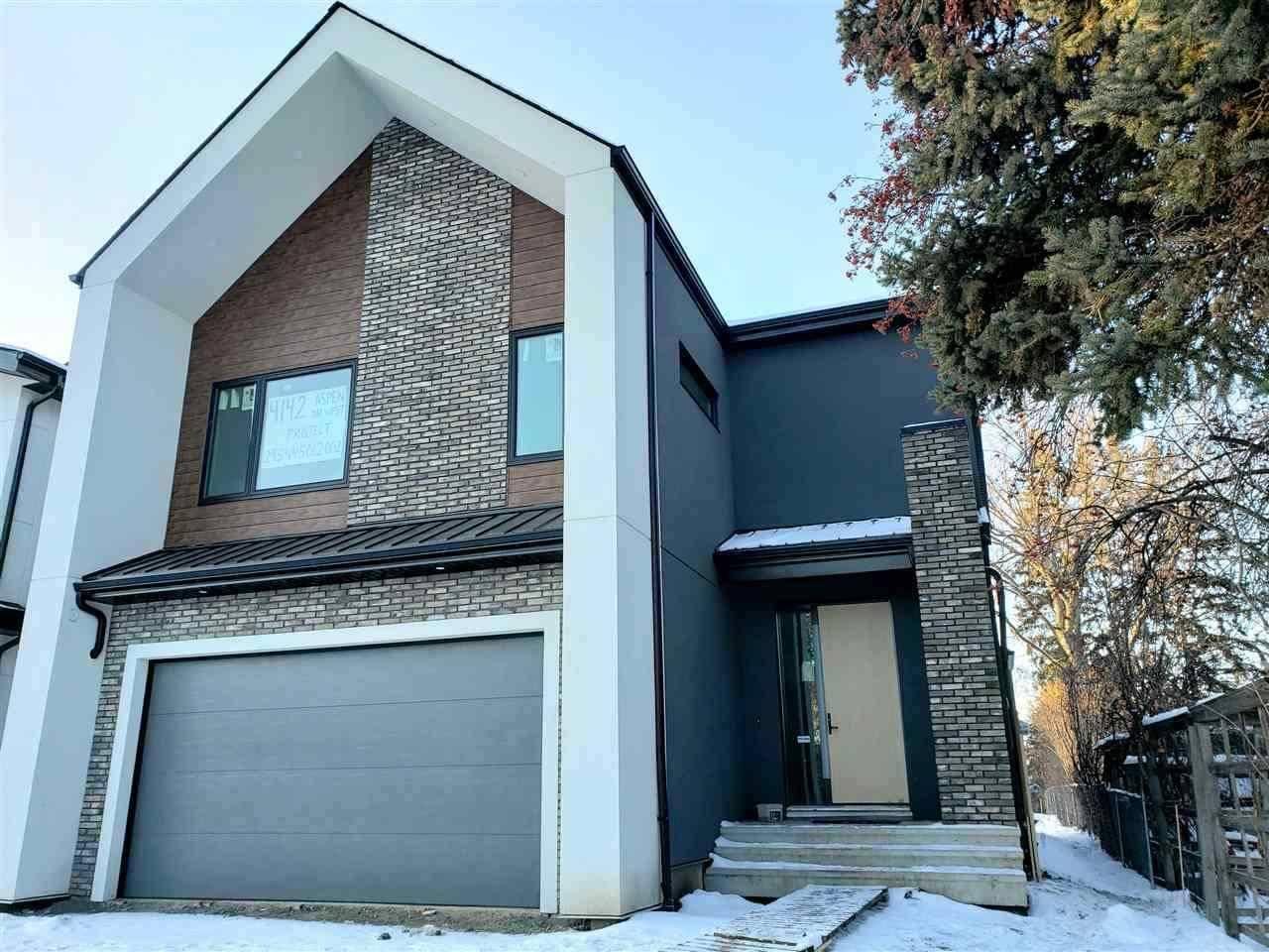 House for sale at 4142 Aspen Dr Nw Edmonton Alberta - MLS: E4184880