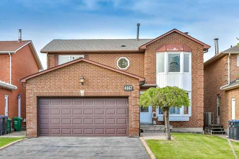 House for sale at 4147 Independence Ave Mississauga Ontario - MLS: W4470007