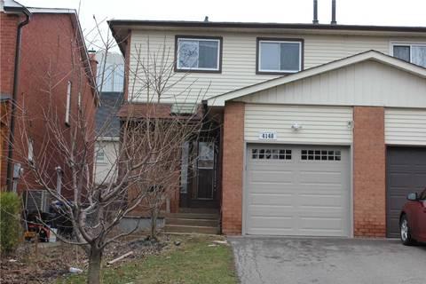 Townhouse for sale at 4148 Bishopstoke Ln Mississauga Ontario - MLS: W4736373