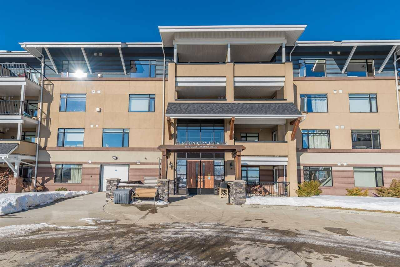Condo for sale at 1589 Glastonbury Blvd Nw Unit 415 Edmonton Alberta - MLS: E4182589