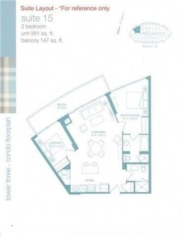 Apartment for rent at 160 Vanderhoof Ave Unit 415 Toronto Ontario - MLS: C4662526