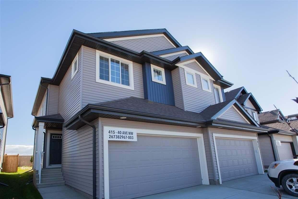 Townhouse for sale at 415 40 Av NW Edmonton Alberta - MLS: E4213920