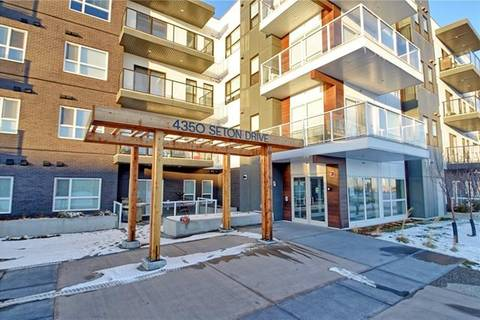 Condo for sale at 4350 Seton Dr Southeast Unit 415 Calgary Alberta - MLS: C4280697