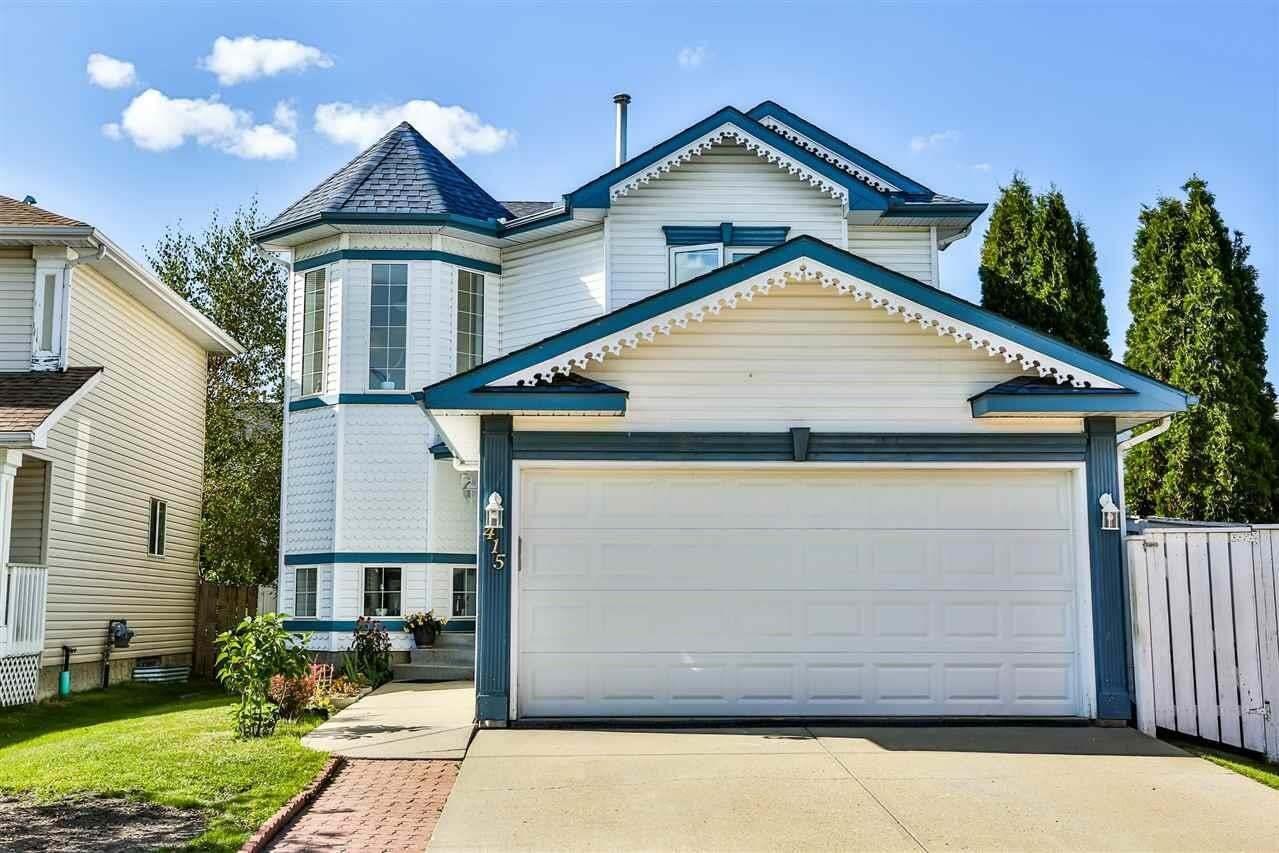 House for sale at 415 Breckenridge Ln NW Edmonton Alberta - MLS: E4215425