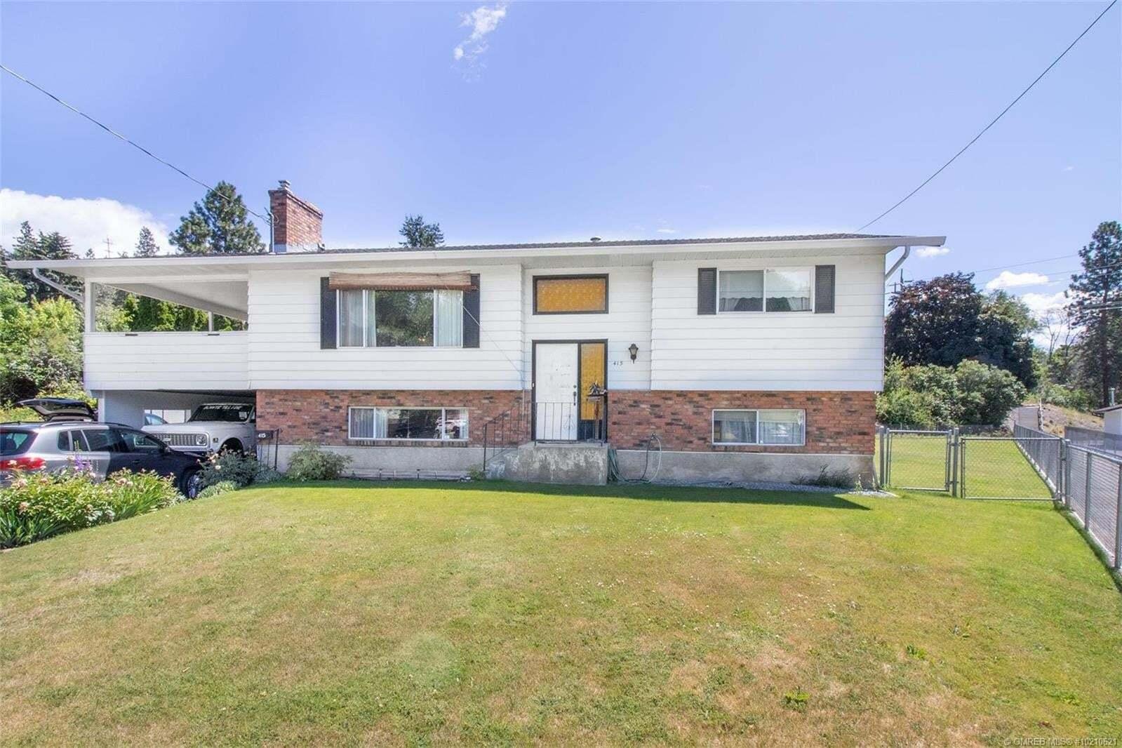 House for sale at 415 Burbank Ct Kelowna British Columbia - MLS: 10210621