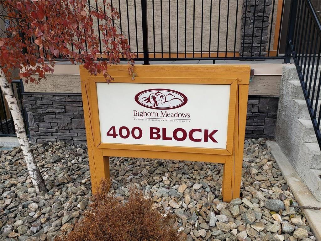 Condo for sale at 400 Bighorn Boulevard  Unit 415 L Radium Hot Springs British Columbia - MLS: 2441877