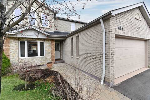 House for sale at 415 Naomi Cres Mississauga Ontario - MLS: W4660455
