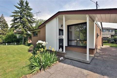 House for sale at 415 Third Line Oakville Ontario - MLS: W4637749