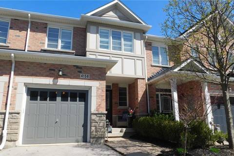 Townhouse for sale at 4158 Rawlins Common Cres Burlington Ontario - MLS: W4439101