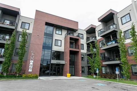 Condo for sale at 1004 Rosenthal Blvd Nw Unit 416 Edmonton Alberta - MLS: E4158732