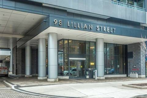 Condo for sale at 98 Lillian St Unit 416 Toronto Ontario - MLS: C4639587
