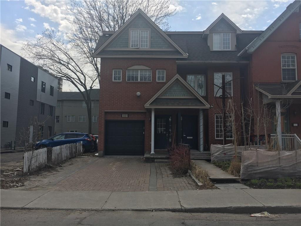 For Rent: 416 Lisgar Street, Ottawa, ON | 4 Bed, 2 Bath Townhouse for $3,800. See 17 photos!