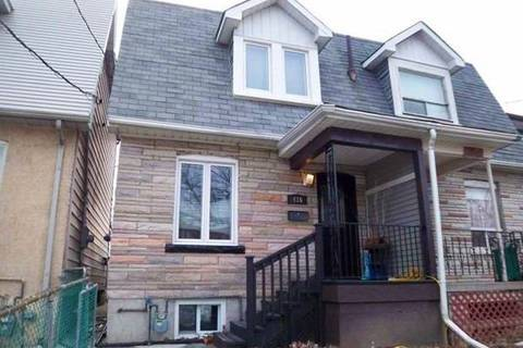 Townhouse for rent at 416 Maybank Ave Toronto Ontario - MLS: W4667022