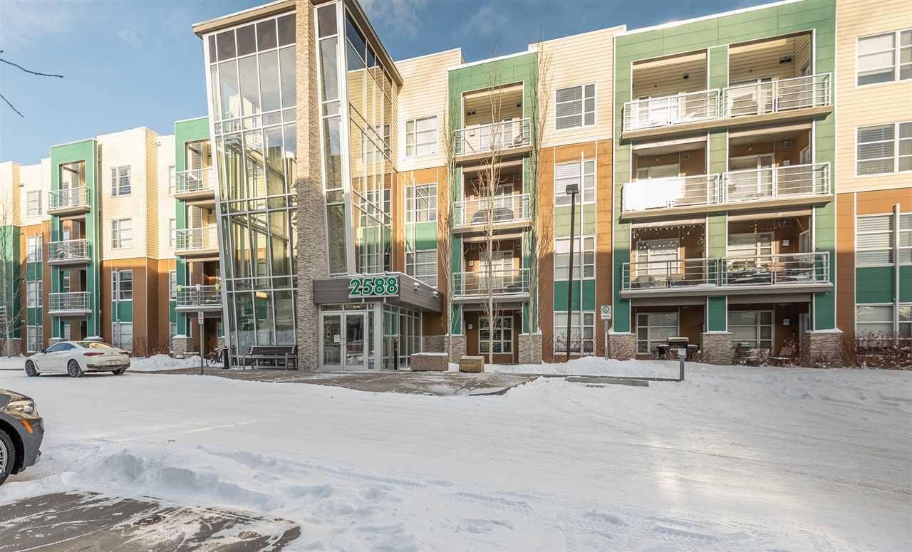 Condo for sale at 2588 Anderson Wy Sw Unit 417 Edmonton Alberta - MLS: E4184624