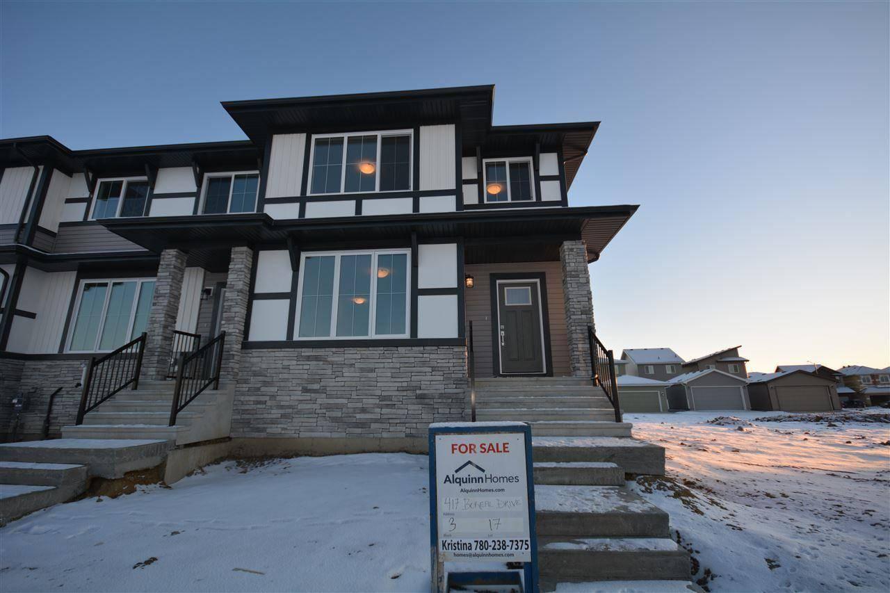 Townhouse for sale at 417 Boreal Dr Leduc Alberta - MLS: E4181459