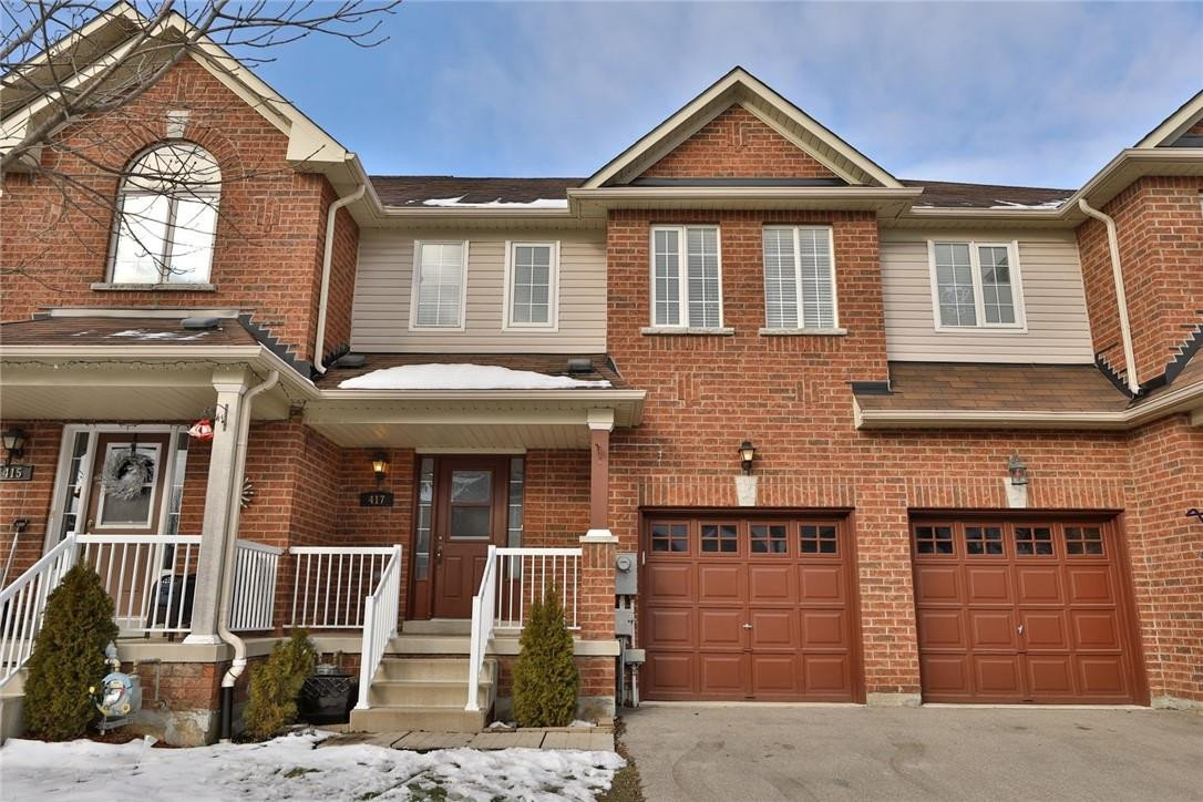 Townhouse for sale at 417 Hobbs Cres Milton Ontario - MLS: H4095410