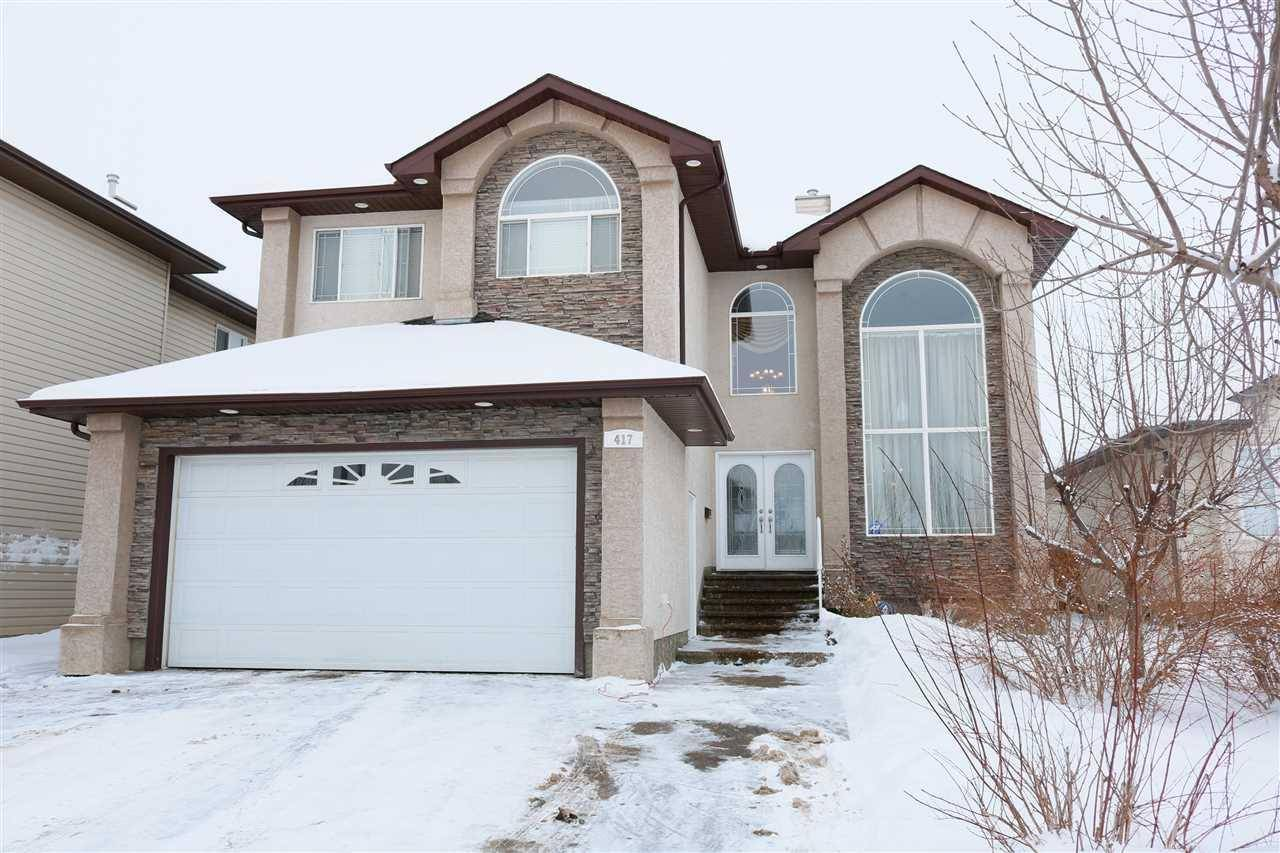 House for sale at 417 Ozerna Rd Nw Edmonton Alberta - MLS: E4185128