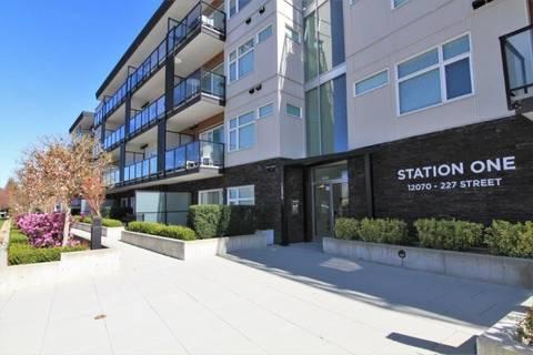 Condo for sale at 12070 227 St Unit 418 Maple Ridge British Columbia - MLS: R2354698