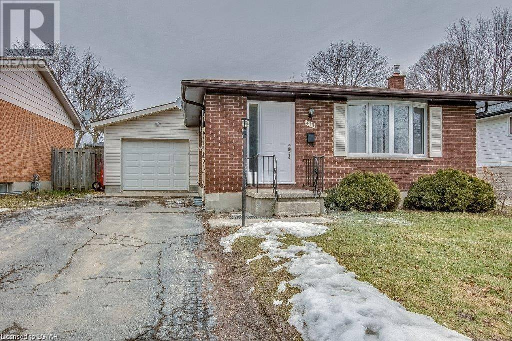 House for sale at 418 Castlegrove Blvd London Ontario - MLS: 252782