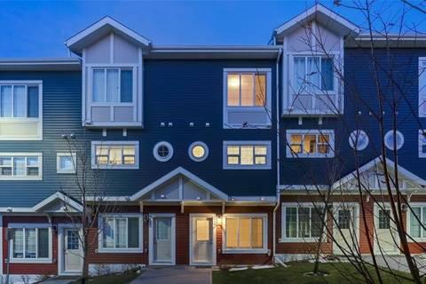 Townhouse for sale at 418 Evansridge Common Northwest Calgary Alberta - MLS: C4274302