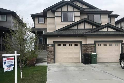 Townhouse for sale at 418 Reed Cres Leduc Alberta - MLS: E4145056