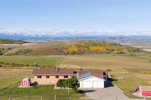House for sale at 418138 96 St West Rural Foothills County Alberta - MLS: C4270537