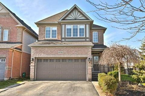 House for sale at 4183 Saunders Cres Burlington Ontario - MLS: W4643372