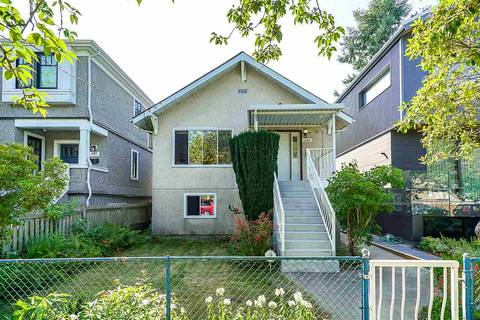 House for sale at 4183 St. George St Vancouver British Columbia - MLS: R2394603